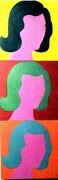 "Nice N Not So Easy 12""x4"" acrylic on canvas"